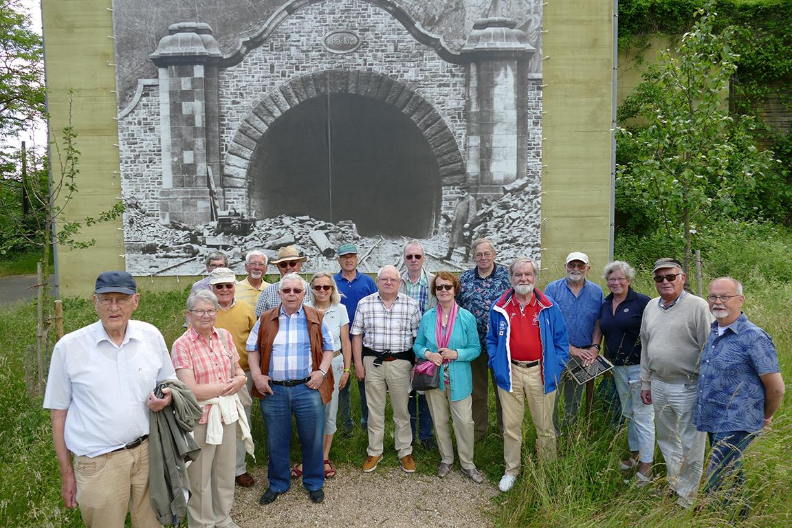 KERH besucht Erinnerungsstätte Lager Rebstock