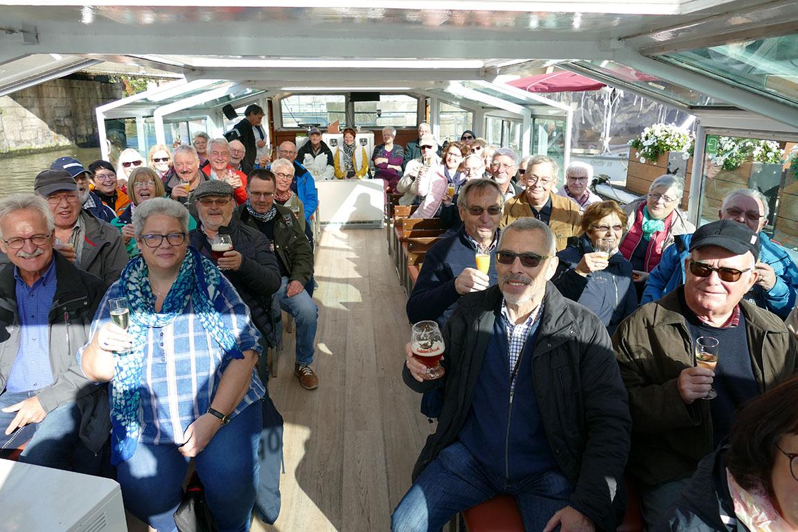 Mehrtagesfahrt führte im Oktober nach Flandern