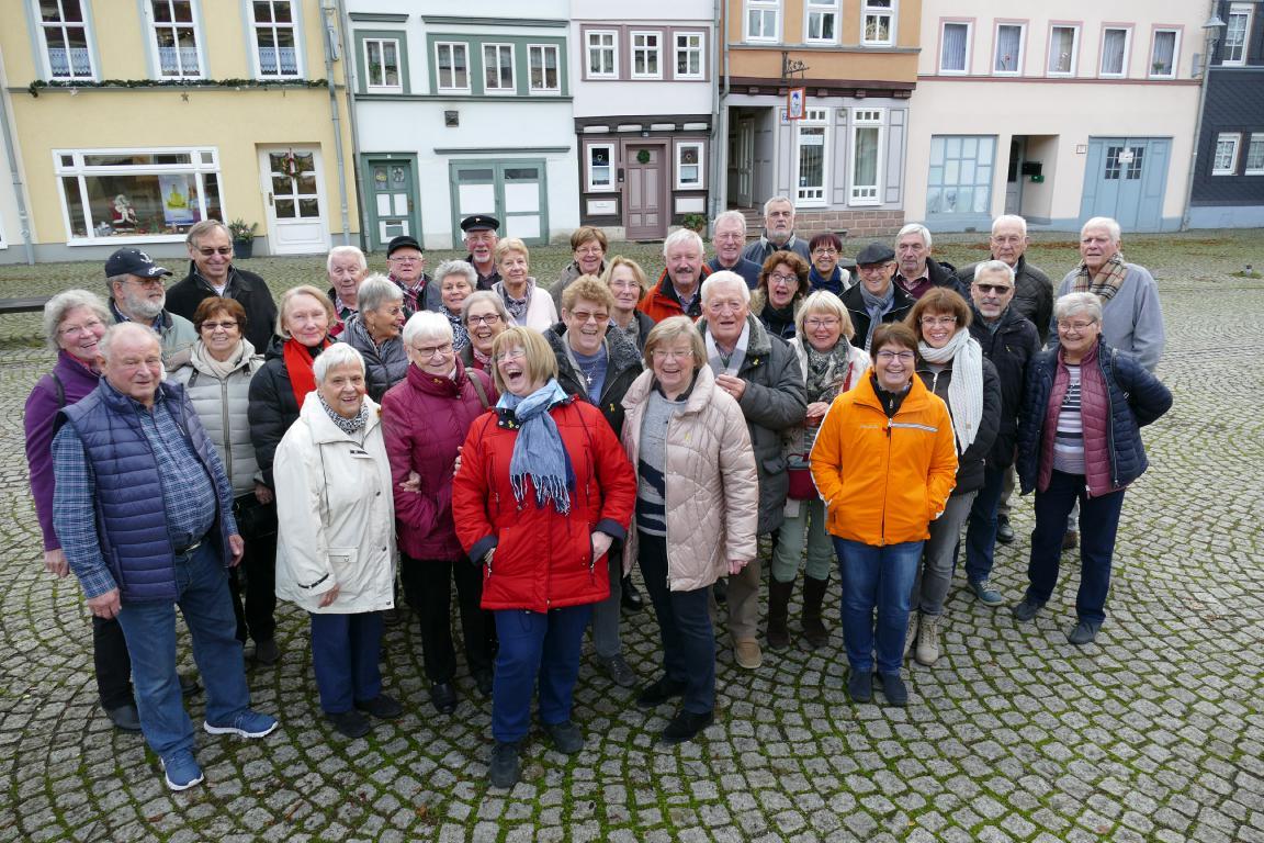 Kameradschaft der ehemaligen Soldaten, Reservisten und Hinterbliebenen im Kreis Ahrweiler auf Adventstour